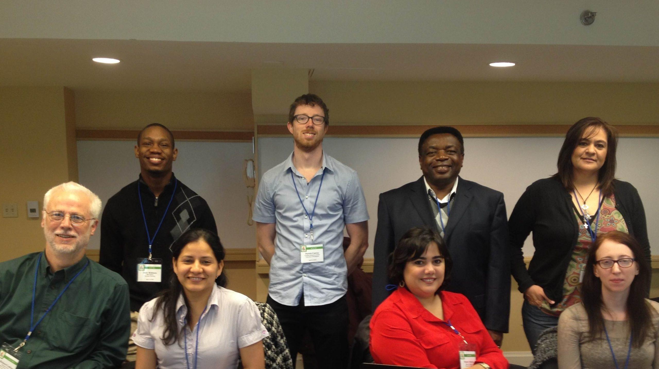 Eight Academic Career Workshop Members
