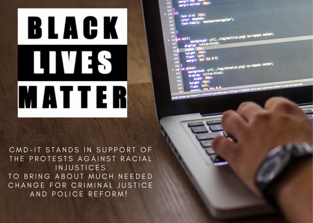 CMD-IT Racial Injustices Black Lives Matter Poster