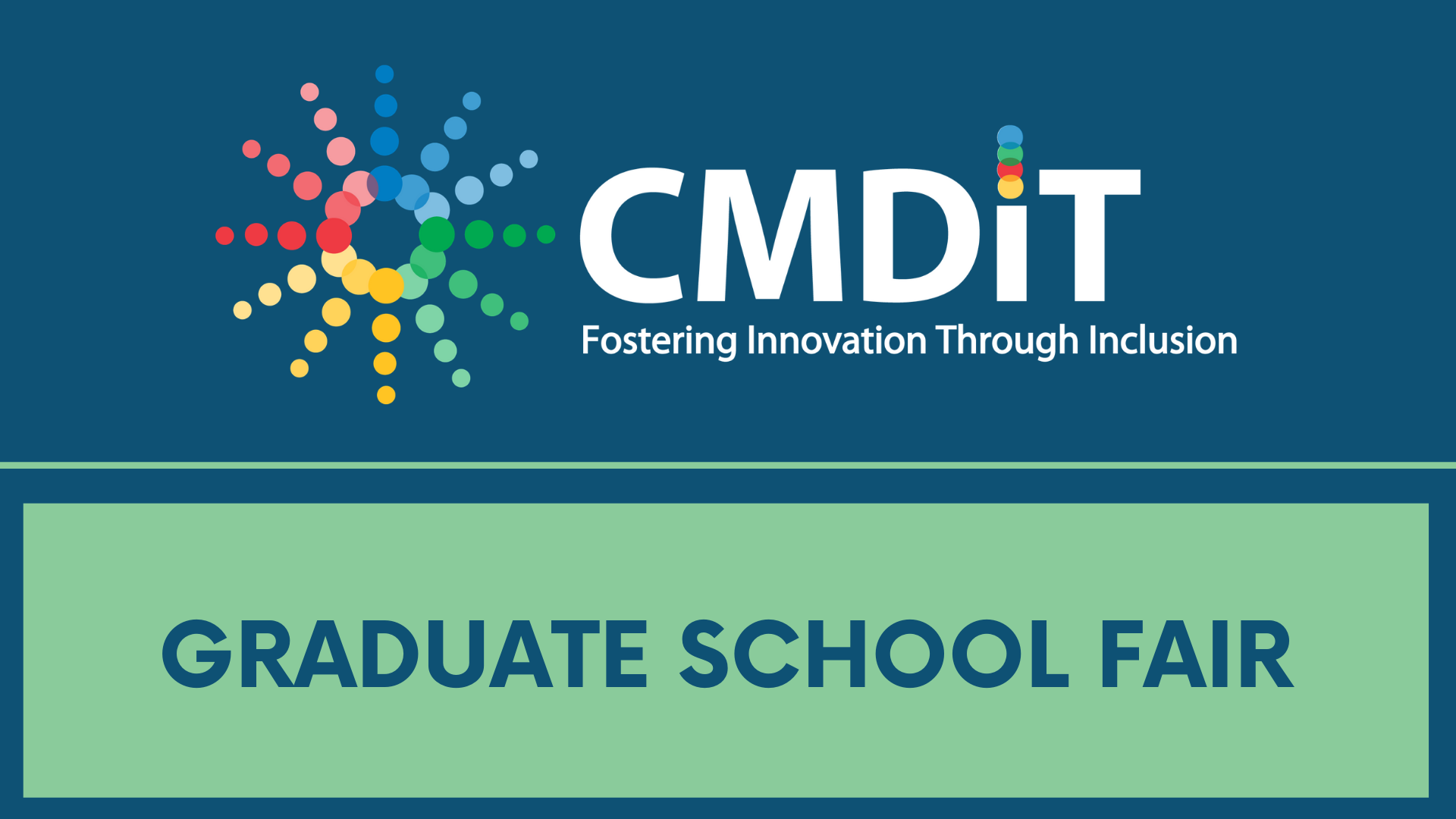 CMD-IT Graduate School Fair for Tech